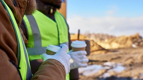 Most people don't realize that working in cold weather conditions can cause dehydration. Find out why and what you can do about it.