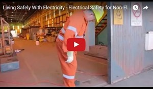 Image for Living Safely With Electricity - Electrical Safety for Non-Electrical Workers
