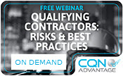 Qualifying Contractors: Risks & Best Practices