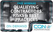 Qualifying Contractors: Risks & Best Practices