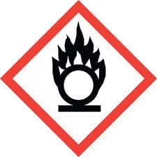 oxidizers safety symbol