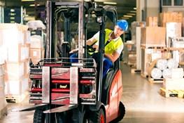 Making loading docks and warehouses forklift safe