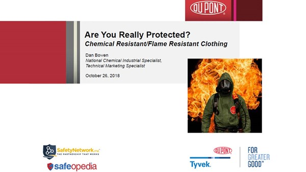 Image for Webinar:  CR/FR Clothing - Are you Really Protected? You'd be Surprised