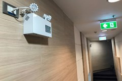 Emergency lighting and exit sign