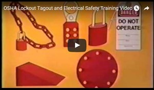 Image for OSHA Lockout Tagout and Electrical Safety Training Video