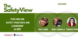 The Safety View:  Evolving our Safety Practices