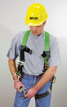Full body safety harness leg straps