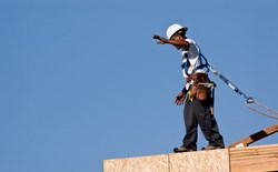How much clearance do you need for fall protection?