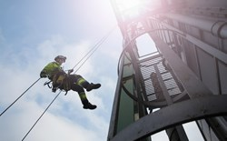 How does body weight affect fall protection?
