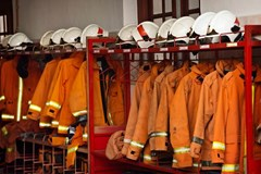 What is the difference between primary and secondary flame resistant (FR) garments?