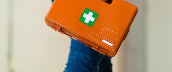 Basic first aid instructions for common workplace injuries