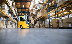 Reducing CO levels from forklifts