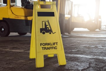 A Primer on Forklift Hand Signals
