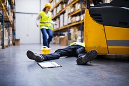 Preventing forklift injuries