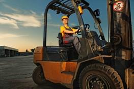Regular forklift inspections