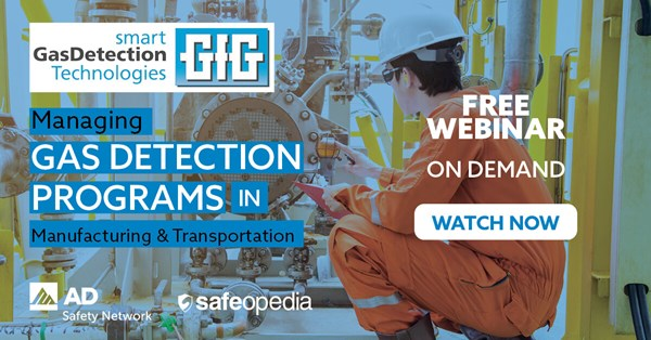 Image for Managing Gas Detection Programs in Manufacturing and Transportation