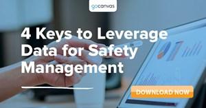 Image for 4 Keys to Leverage Data for Safety Management