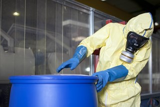 What regulations apply to hazmat storage?