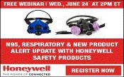 N95, Respiratory & new product alert update with Honeywell Safety Products