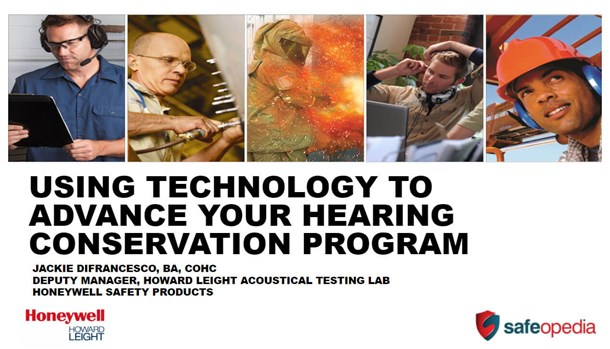 Webinar: Using Technology to Advance your Hearing Conservation Program
