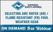 Selecting Arc Rated / Flame Resistant Foul Weather Gear