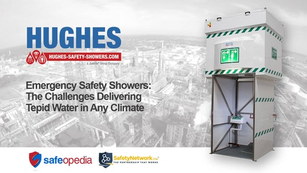 Image for Webinar:  Emergency Safety Showers - The Challenges of Providing Tepid Water in Any Climate