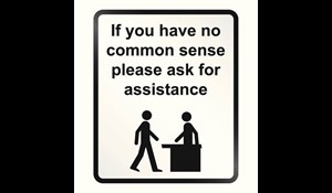 Image for Follow Common Sense Safety Practices
