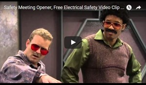 Image for Safety Meeting Opener, Free Electrical Safety Video Clip