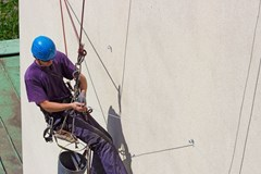What tools should I tether when working at heights?