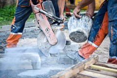 What is the permissible exposure limit (PEL) for silica?