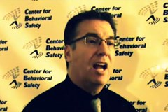 Center for Behavioral Safety Presents: 3 Questions with Dr. Thomas E. Boyce