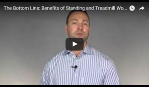 Image for The Bottom Line: Benefits of Standing and Treadmill Workstations