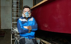 What is a respirator fit test and why is it performed?