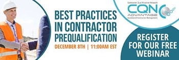 Best Practices in Contractor Prequalification