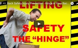 Back Safety - Injury Prevention - Hinge in Your Back