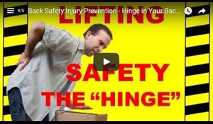 Image for Back Safety - Injury Prevention - Hinge in Your Back