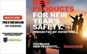 New Products for New Year's Safety Presented by Honeywell