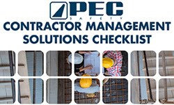 Contractor Management Solutions Checklist
