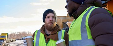 Workwear for light winter conditions