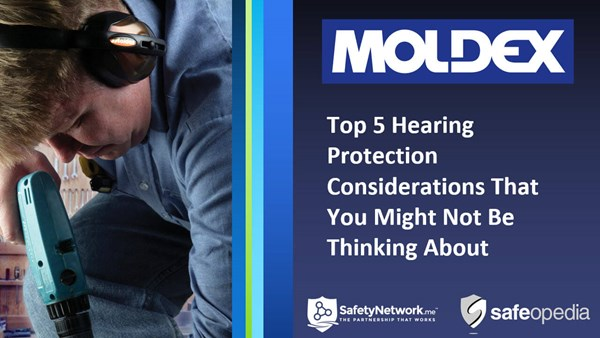 Image for Webinar:  Top 5 Hearing Protection Considerations That You Might Not Be Thinking About