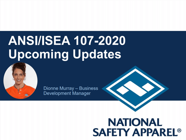 Image for Webinar: Upcoming Updates to Hi-Vis Apparel: ANSI/ISEA 107-2015