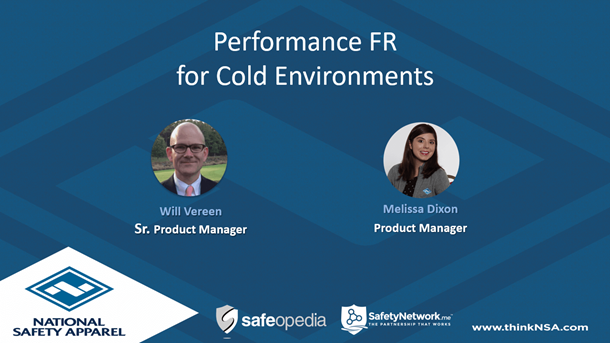 Webinar:  Performance FR for Cold Environments - What You Need to Know