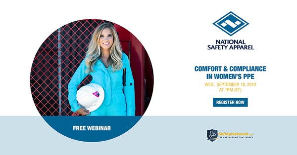 Image for Webinar: Comfort and Compliance in Women's PPE