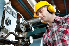 Noise hazards require proper hearing protection PPE