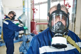 What PPE is needed when using hydrogen sulfide?