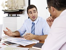 Why is it important to do a performance review after the contractor's work is already done?
