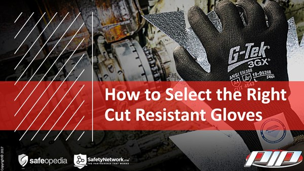 Image for Webinar:  How To Select The Right Cut Resistant Gloves