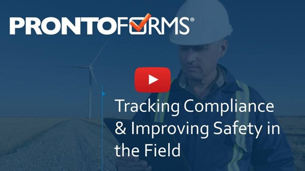 Image for Webinar:  Tracking Compliance & Improving Safety in the Field