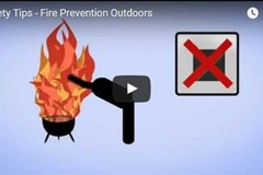 Safety Tips - Fire Prevention Outdoors