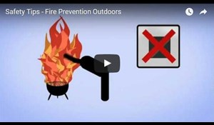 Image for Safety Tips - Fire Prevention Outdoors